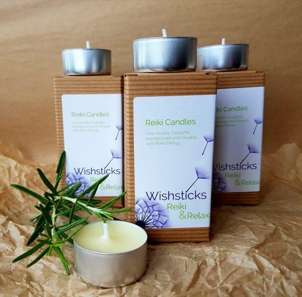Wishsticks Reiki Candles