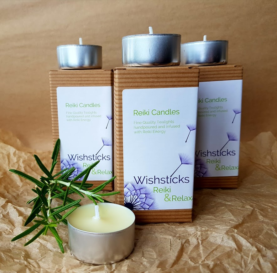 Wishsticks Reiki Candles