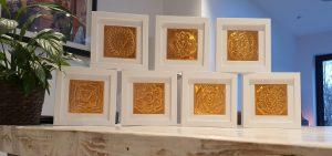Set of Chakra Artworks