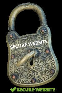 Secure Website padlock image